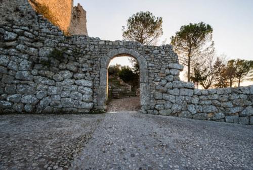 Acropolis of Civitavecchia di Arpino, Ciociaria, Italy