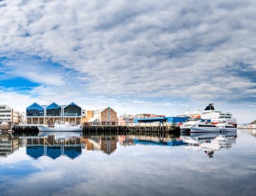Hammerfest City, Finnmark, Norway