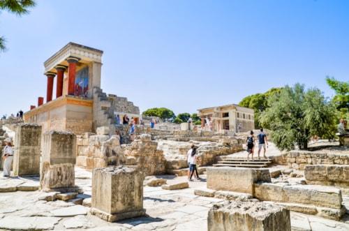Knossos Temple, Heraklion, Greece