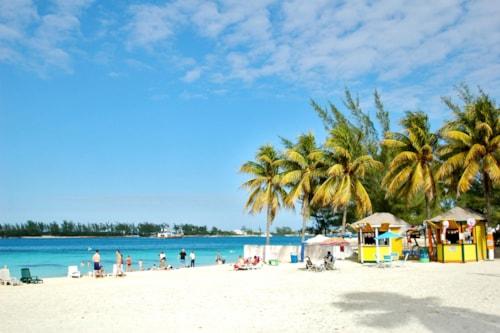 City Beach At Nassau, The Bahamas
