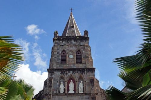 Church Our Lady of Fair Haven, Roseau, Dominica, Caribbean