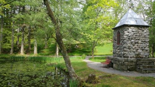 Garden of Barony Rosendal, Norway