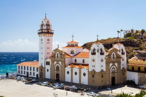 Candelaria Church, Candelaria, Santa Cruz de Tenerife, Tenerife, Canary Islands, Spain