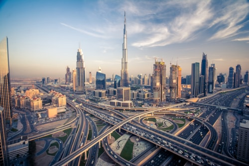 Landausflug Dubai: Skyline Dubai