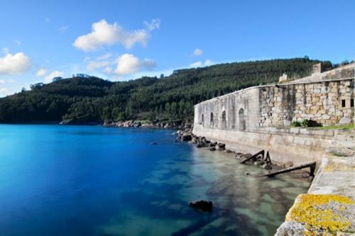Die Burg San Felipe in Ferrol