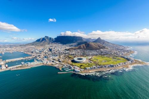Luftaufnahme von Kapstadt