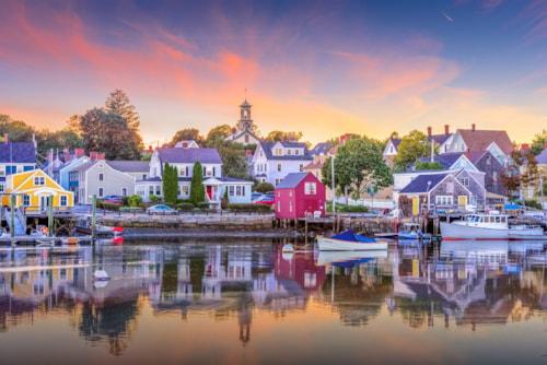 Portsmouth bei Sonnenuntergang (Domenica?)