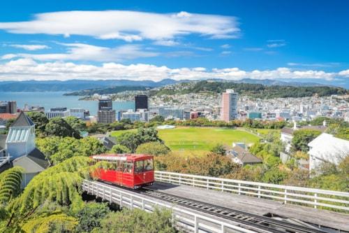 Kabelstraßenbahn in Wellington